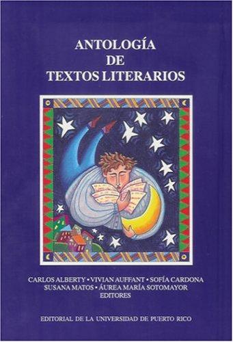 9780847701810: Antologia de textos literarios/ Anthology of literary texts (Spanish and English Edition)