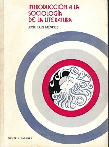 9780847705818: INTRODUCCION A LA SOCIOLOGIA DE LA LITERATURA