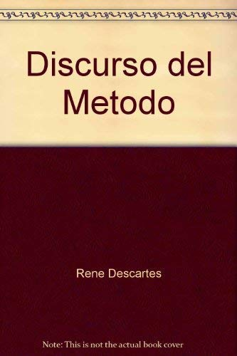 9780847707058: Discurso del Metodo