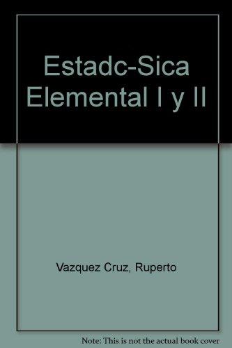 9780847726288: Estadística elemental: Primera parte (Spanish Edition)