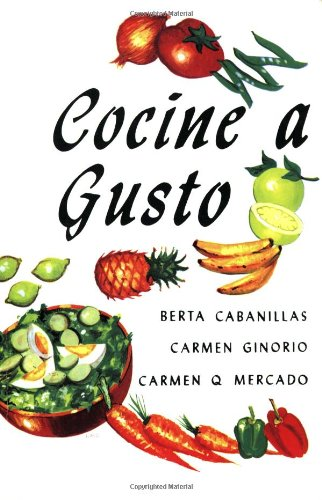 9780847727797: Cocine a Gusto - (Puerto Rican Recipes Cookbook in Spanish)