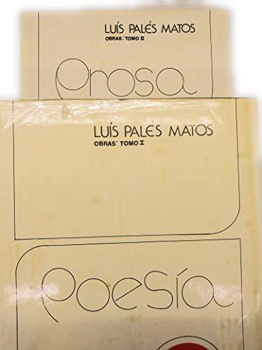 9780847732197: Luis Pales Matos Obras, 1914-1959/ Work of Luis Pales Matos, 1914-1959: Poesia, Tomo II : Prosa