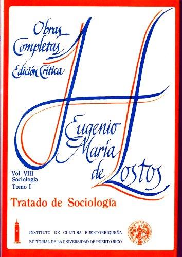 Tratado De Sociologia.: De Hostos, Eugenio
