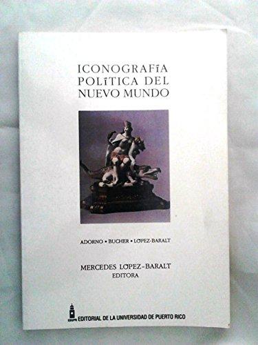 9780847736386: Iconografia Portica Del Nuevo Mundo/ Arcade Iconography of the New World