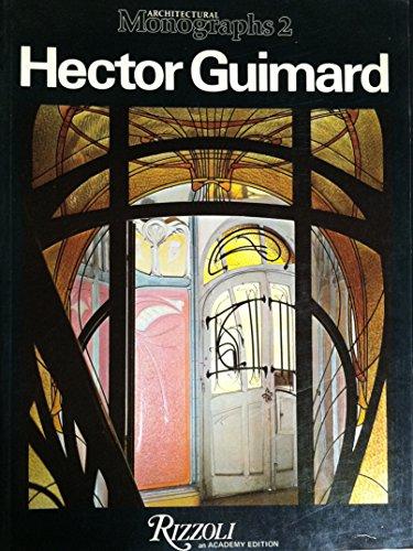 9780847801961: Hector Guimard (Architectural Monographs No 2)