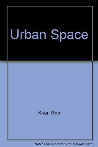 9780847802333: Urban Space