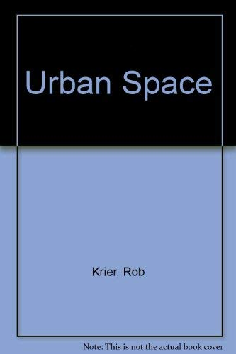 9780847802333: Urban Space (English and German Edition)