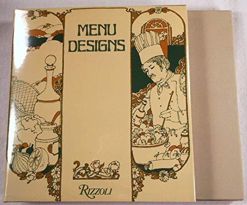 Menu designs: Schmidt, Hanspeter