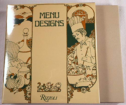 9780847803958: Menu designs