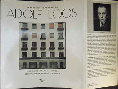 Adolf Loos, theory and works (Idea Books architectural series) (0847804143) by Benedetto Gravagnuolo