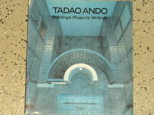 9780847805471: Tadao Ando: Buildings, Projects, Writings