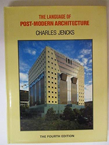 9780847805716: Le language de l'architecture Post-moderne