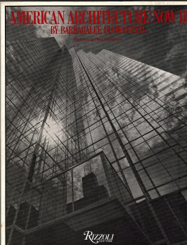 9780847806126: American Architecture Now: Bk. 2