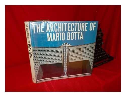 9780847806195: Architecture of Mario Botta