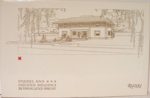 9780847806874: Studies & Executed Buildings of Frank Lloyd Wright