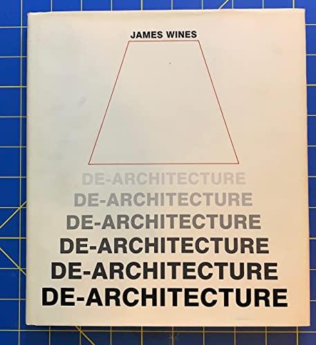 9780847808618: De-Architecture