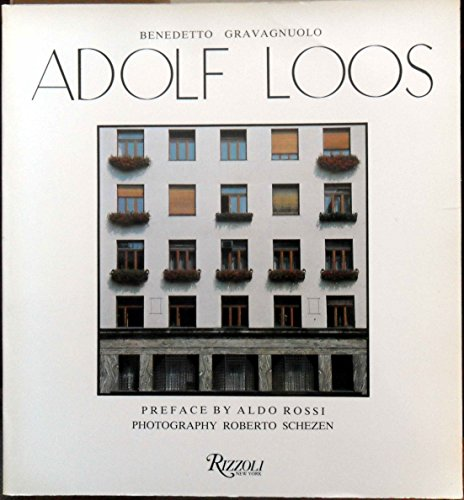 Adolf Loos. Theory and Works (0847808955) by Benedetto Gravagnuolo