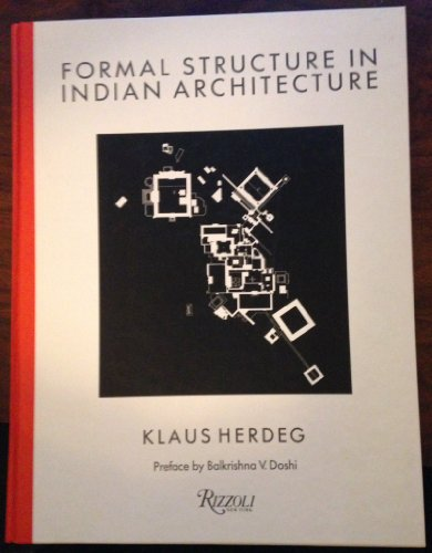 9780847810482: Formal Structure In Indian Architecture