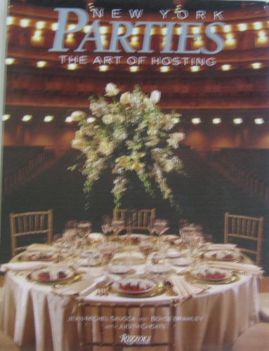 9780847811236: New York Parties: The Art of Hosting