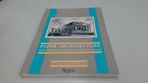 Paper architecture new projects from the Soviet Union.: Klotz,Heinrich.
