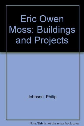 9780847814312: Eric Owen Moss: Buildings and Projects 1