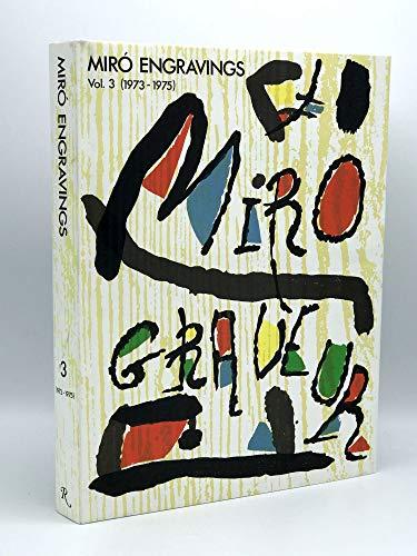 Miro Engravings V. 3 1973-1975: Dupin, Jacques