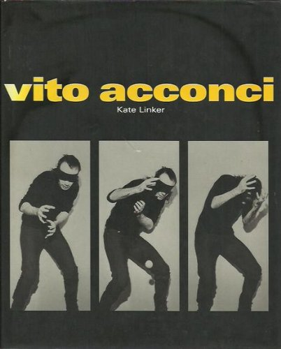 VITO ACCONCI. [SIGNED]: Linker, Kate; VITO