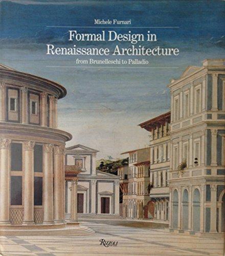 9780847818907: Formal Design in Renaissance Architecture