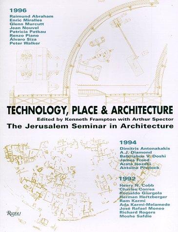 9780847820856: Technology Place & Architecture