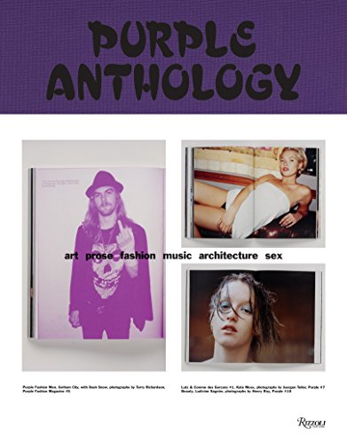 9780847830206: Purple Anthology: Art Prose Fashion Music Architecture Sex