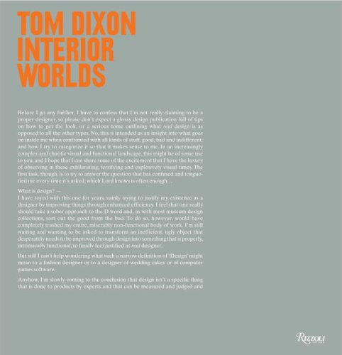 9780847832392: Tom Dixon: Interior Worlds