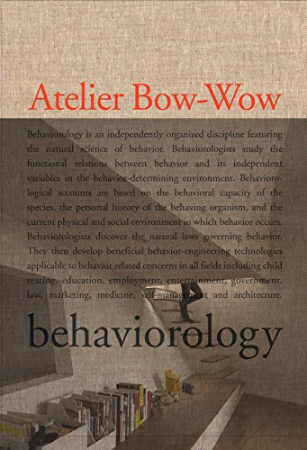9780847833061: The Architectures of Atelier Bow-Wow: Behaviorology