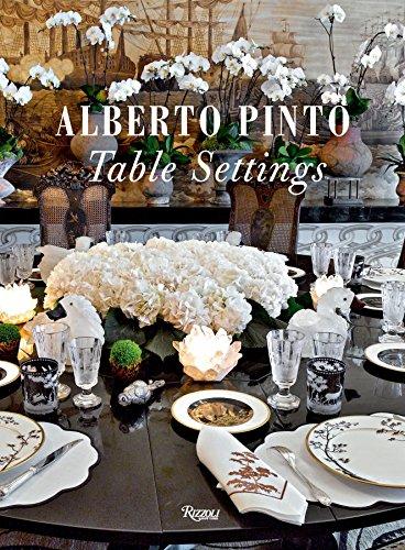 9780847834808: Alberto Pinto: Table Settings