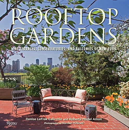 9780847836062: Rooftop Gardens: The Terraces, Conservatories, and Balconies of New York