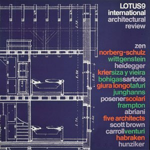 Lotus International, 23. Rivista trimestrale di architettura: Nicolin, Pierluigi, et