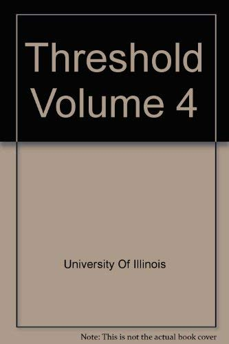 9780847854547: Threshold Volume 4