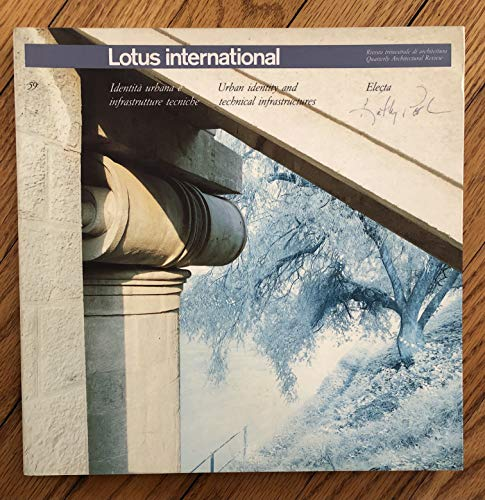 9780847855148: Lotus Vol 59 (Lotus International)