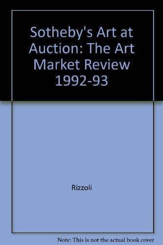 9780847857555: Sotheby's Art At Auction 1992-1993
