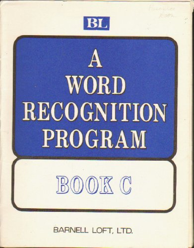 A Work Recognition Program Book C: Barnell Loft< LTD