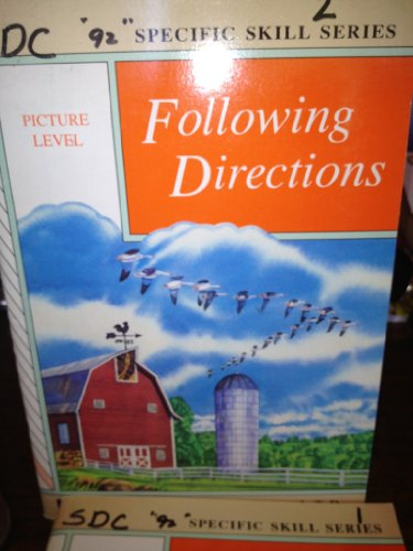 9780848417109: Following Directions (Specific skills Series, Picture Level)