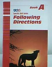 9780848417123: Following Directions (Specific Skill Series, Book A)