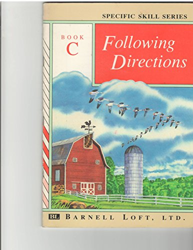 9780848417147: Following Directions (Specific Skills Series, Book C)