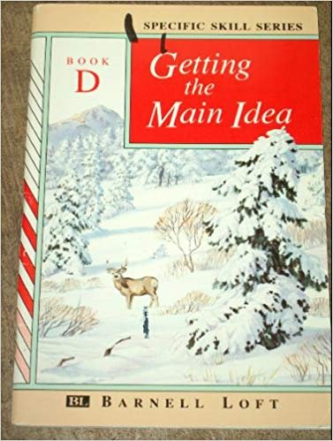 9780848417550: GETTING THE MAIN IDEA (Specific Skills Series, Book D)