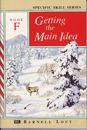 9780848417574: GETTING THE MAIN IDEA: BOOK F (Specific Skills Series)