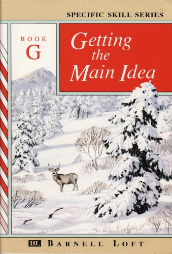 9780848417581: Getting the Main Idea, Book G (Specific Skills Series)