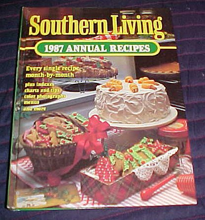 9780848707170: Southern Living 1987 Annual Recipes (Southern Living Annual Recipes)