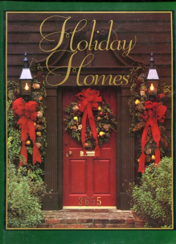 9780848707460: Holiday Homes (At home with Southern living)