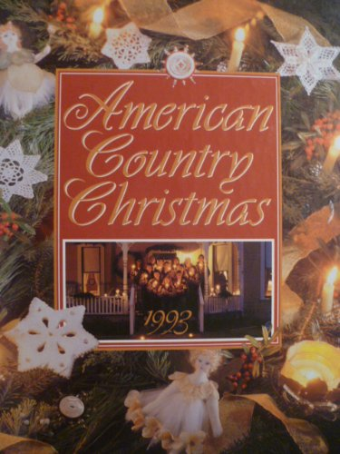 9780848711115: American Country Christmas, 1993