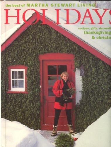 9780848711948: The Best of Martha Stewart Living: Holidays
