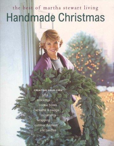 9780848714758: Handmade Christmas : Martha Stewart Living